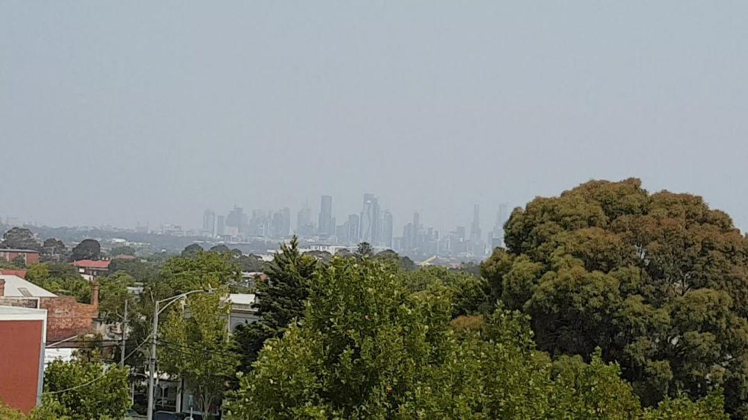 AUSTRALIA | December 2019 | Smoke haze covers Melbourne Australia